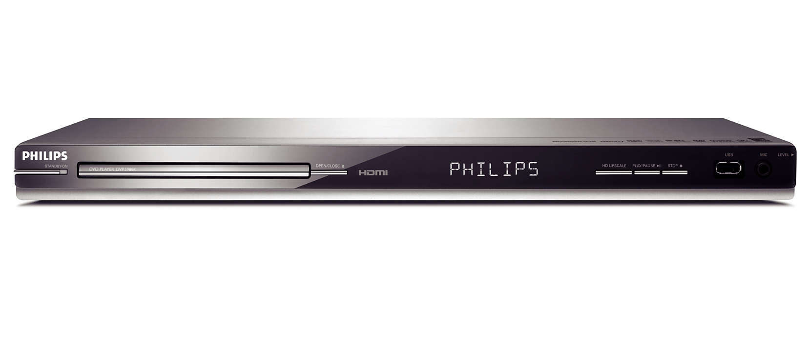 DVD player with HDMI and USB DVP5986K/98 | Philips