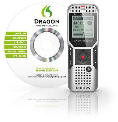 Voice Tracer Digital Recorder Dvt1500 00 Philips