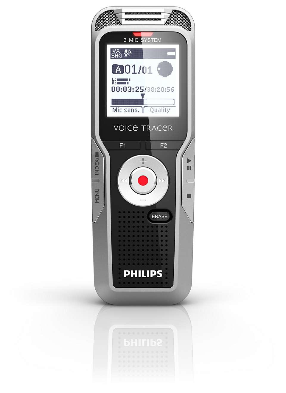 Superior distance recording