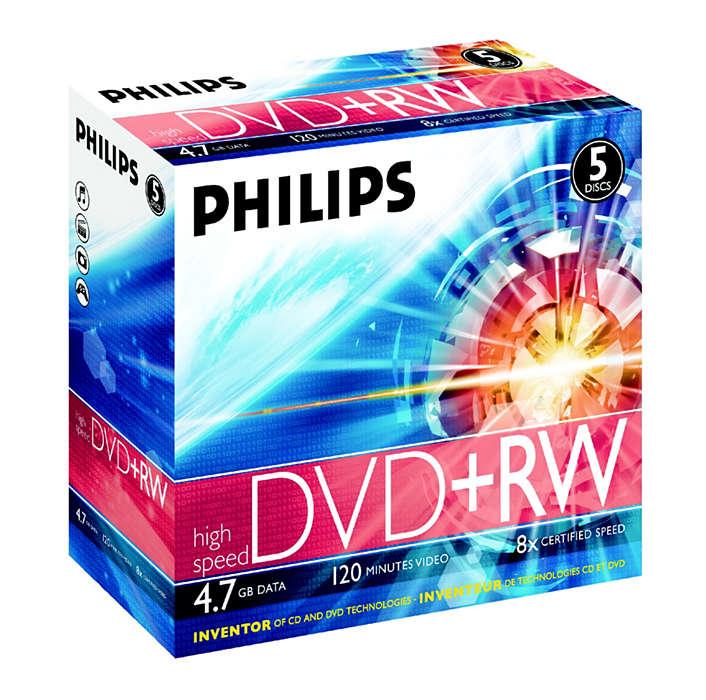 Führend in der Entwicklung von CD- und DVD-Technologien
