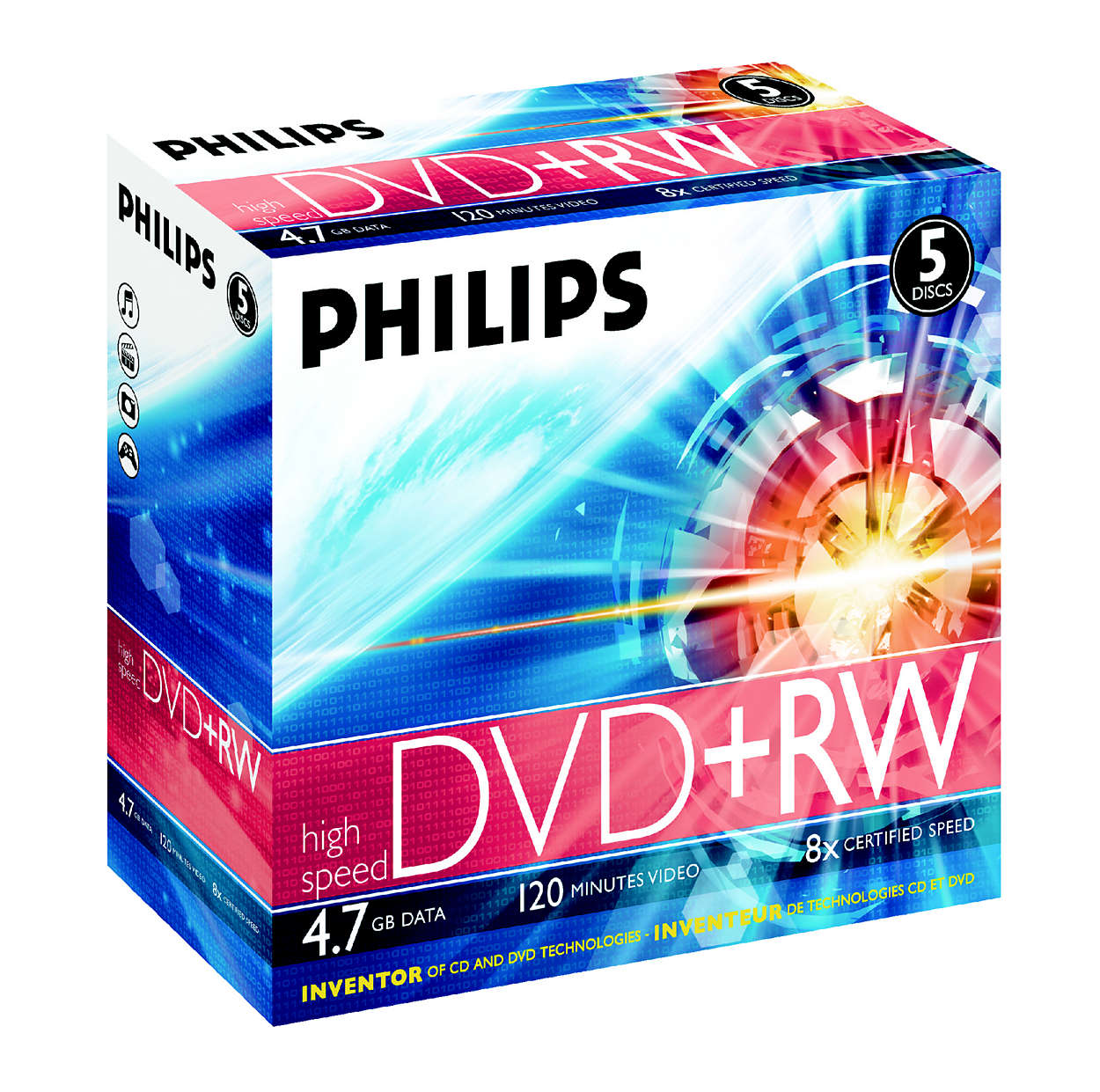 CD- ja DVD-tekniikan kehittäjä