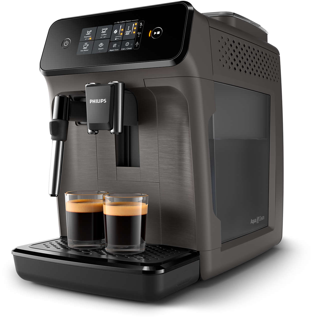 Enostavna priprava 2 odličnih kav iz svežih zrn