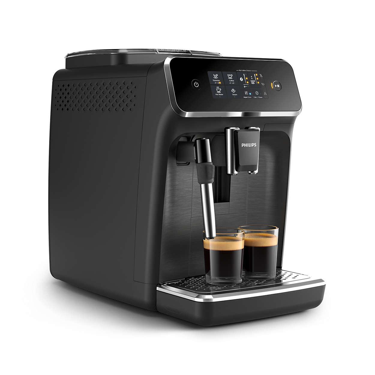 Taze çekirdeklerle kolayca hazırlanmış 2 bardak lezzetli kahve