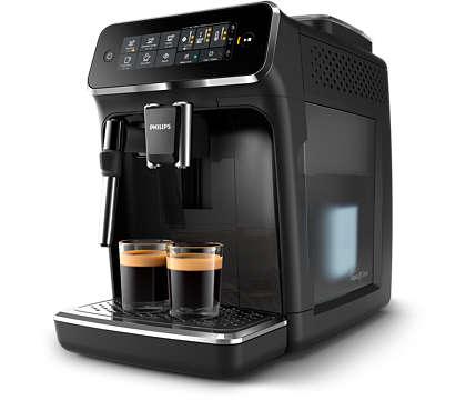 4 koppen koffie van verse bonen, eenvoudig gemaakt