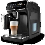 Philips Series 3200 Kaffeevollautomat EP3241/50 5Kaffeespezialitäten, LatteGo, Klavierlack-Schwarz, Intuitive SensorTouch Oberfläche