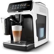Philips Series 3200 Fully automatic espresso machines EP3243 5 Beverages LatteGo White Touch display