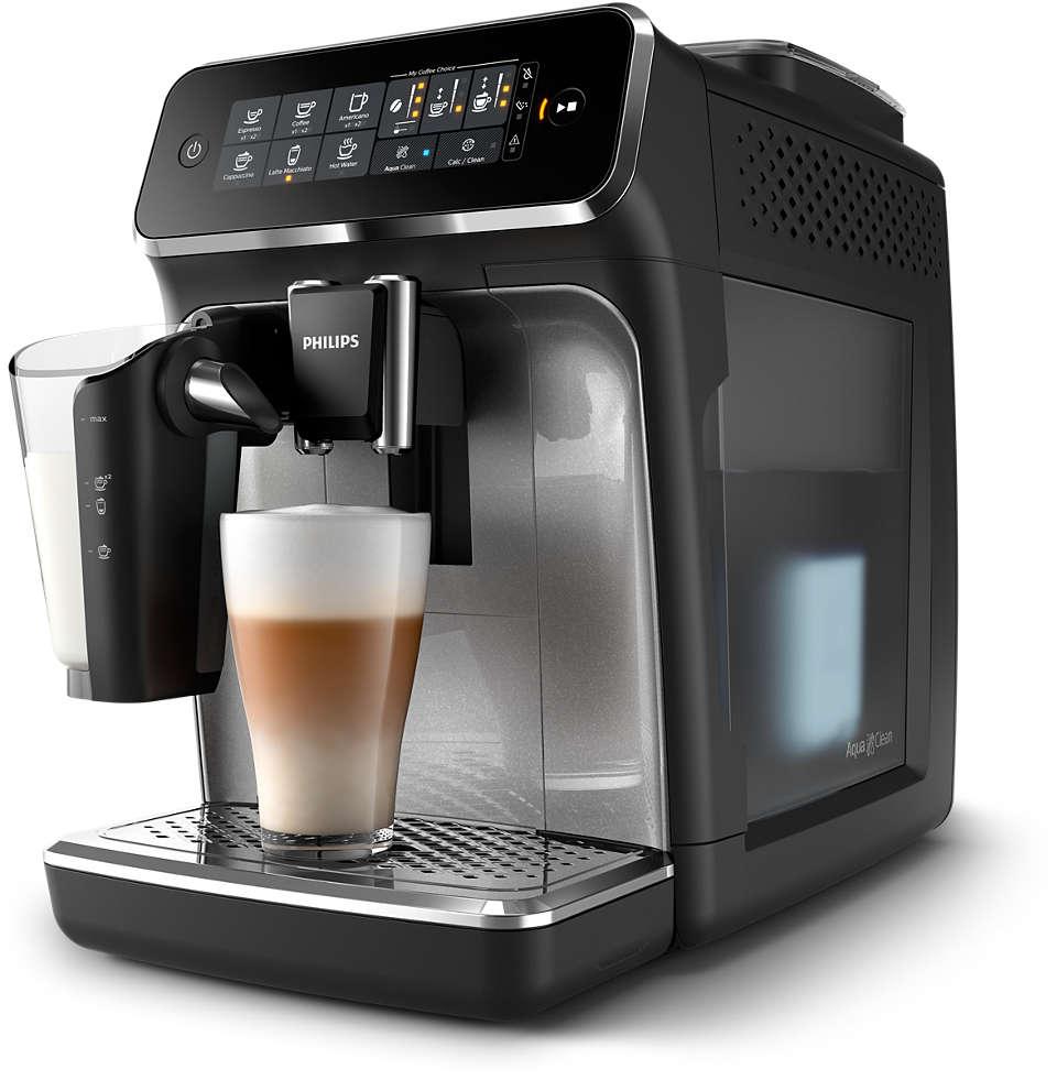 5délicieux cafés préparés avec des grains de café frais