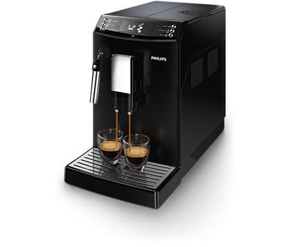 Met één druk op de knop koffie zoals u die graag drinkt