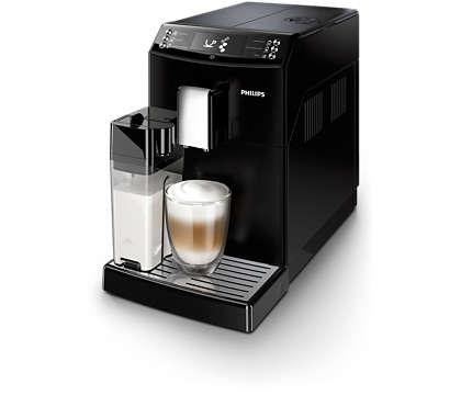 Espresso og cappuccino med ét tryk – på din helt egen måde