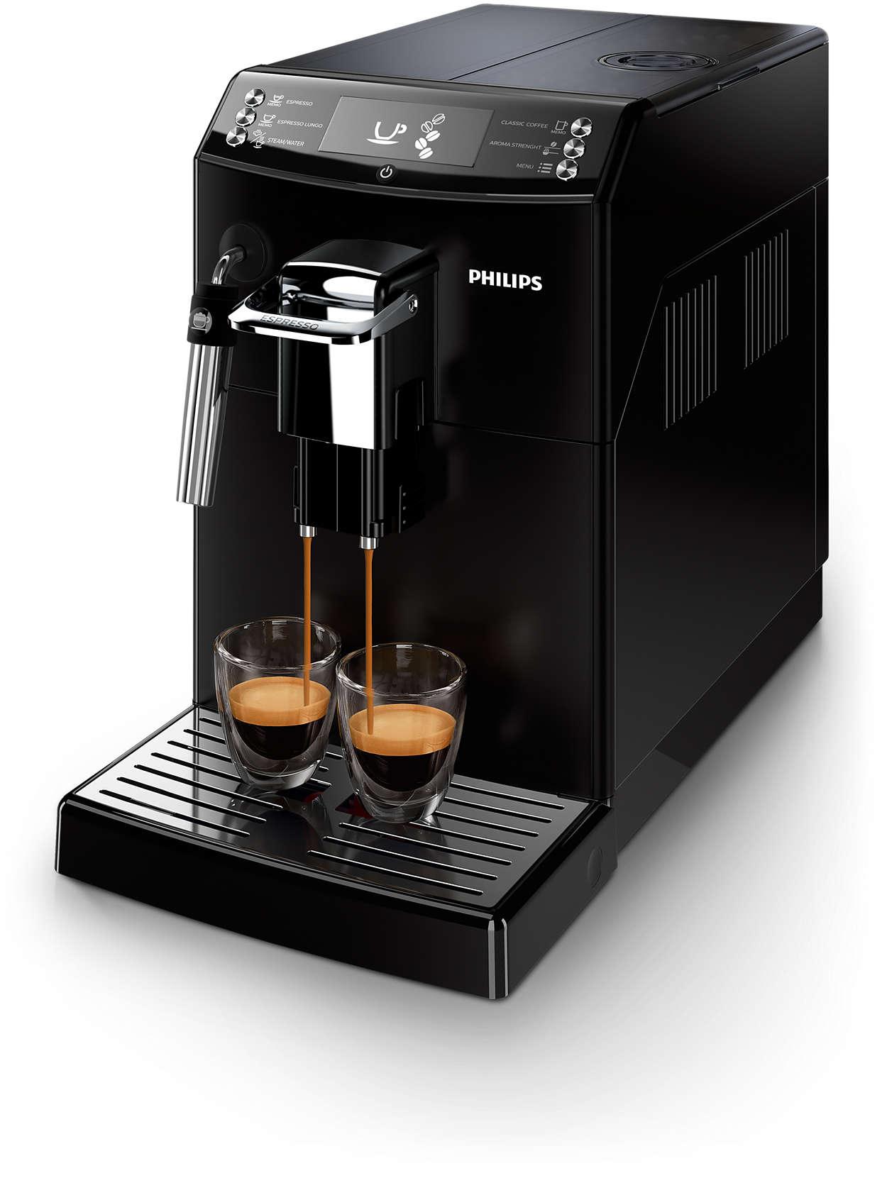 Чудове еспресо та справжній смак заварної кави