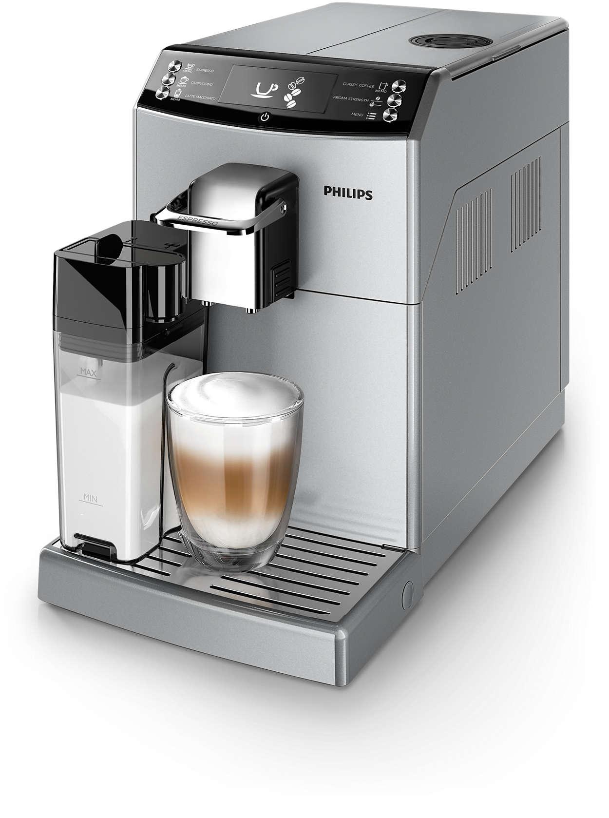 Hervorragender Espresso und Geschmack von Filterkaffee