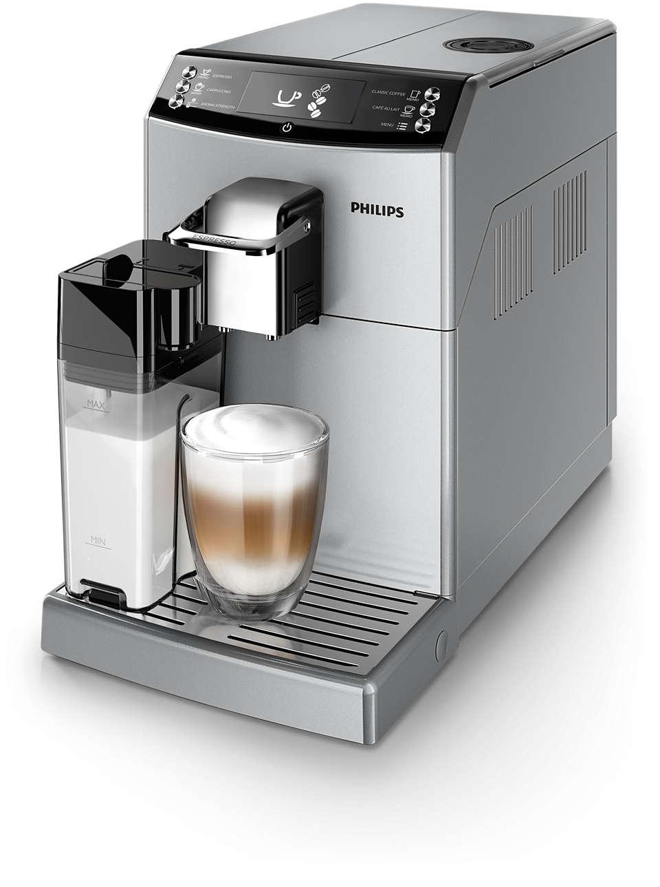 En härlig espresso med smak av vanligt bryggkaffe