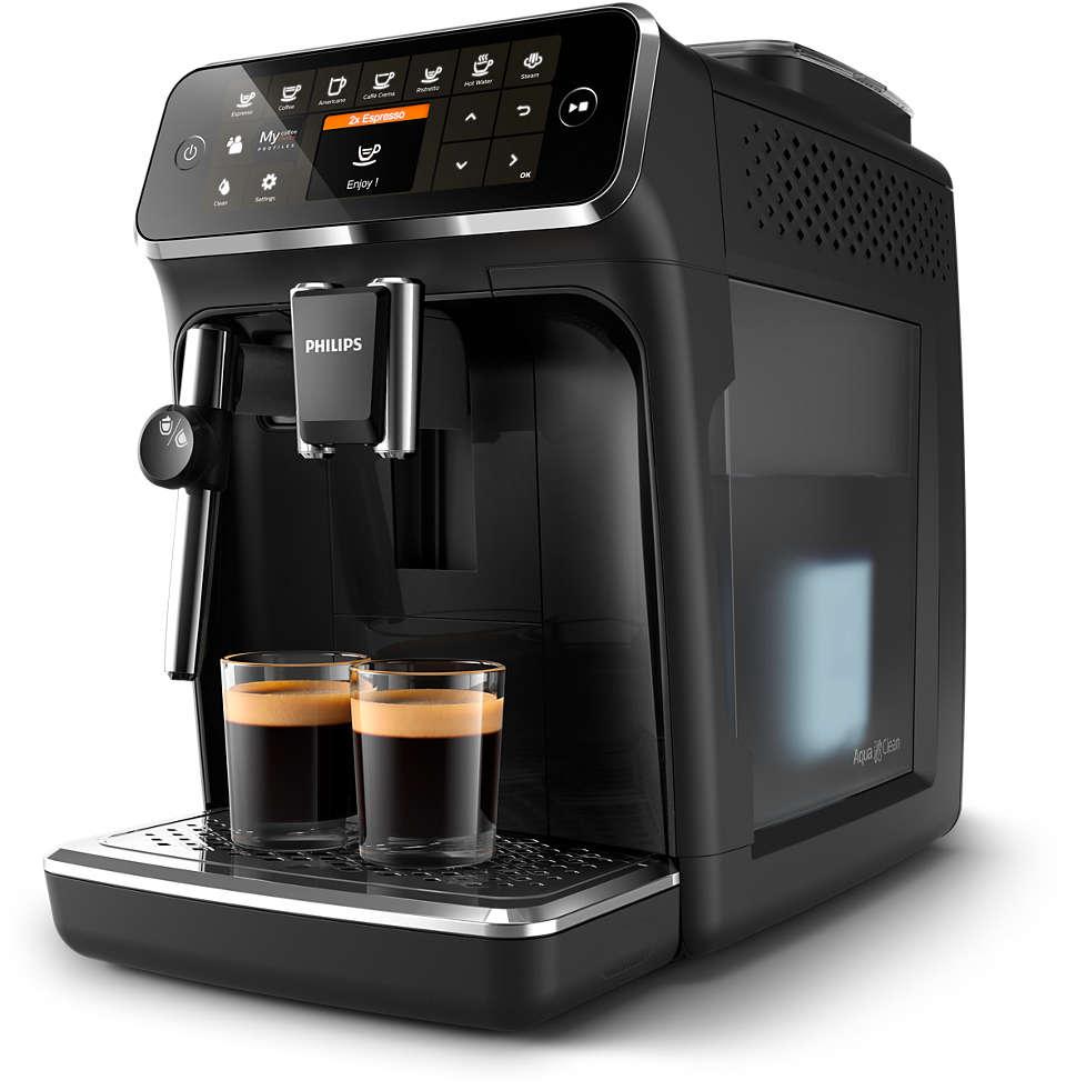 5leckere Kaffeespezialitäten aus frischen Bohnen, leicht gemacht