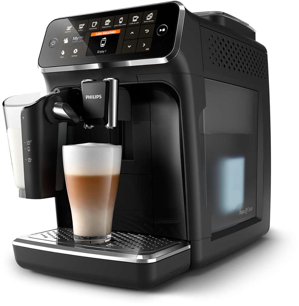Åtta utsökta kaffevarianter gjorda på färska bönor