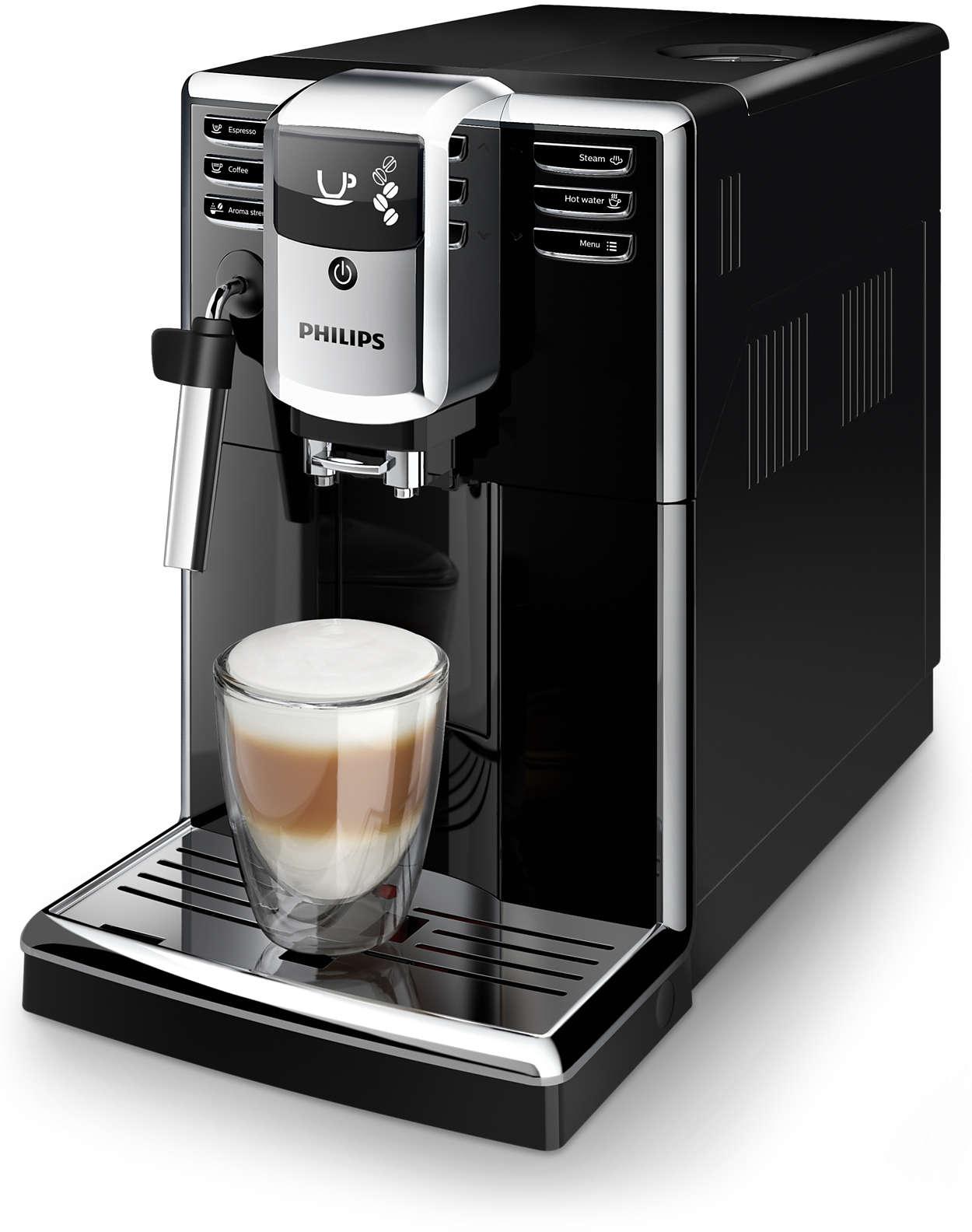 Snadná příprava 3typů kávy zčerstvých kávových zrn