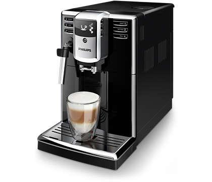 3 tipos de bebidas com café a partir de grãos frescos facilitadas