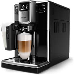Series 5000 Automatisk espressomaskine Sort