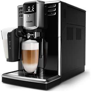 Series 5000 Automatisk espresso maskin Svart