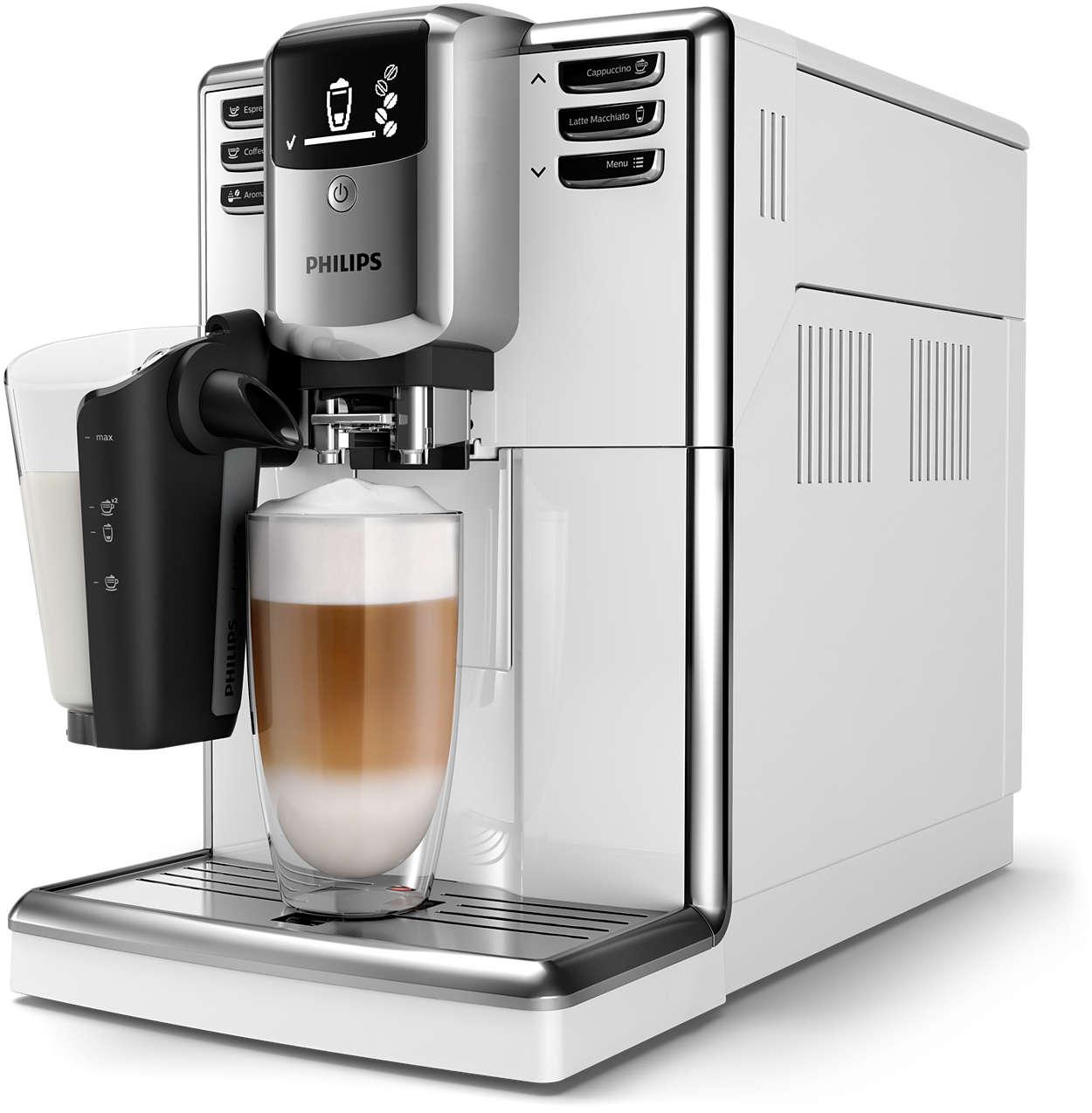 6видов кофе из свежемолотых зерен— это легко