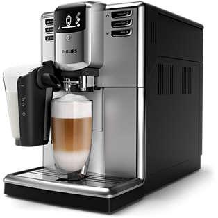 Series 5000 Automatisk espressomaskine Sølv