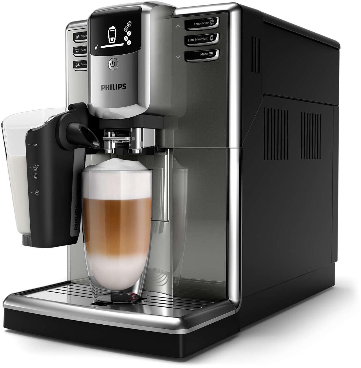 6 variedades de café con granos recién molidos con facilidad