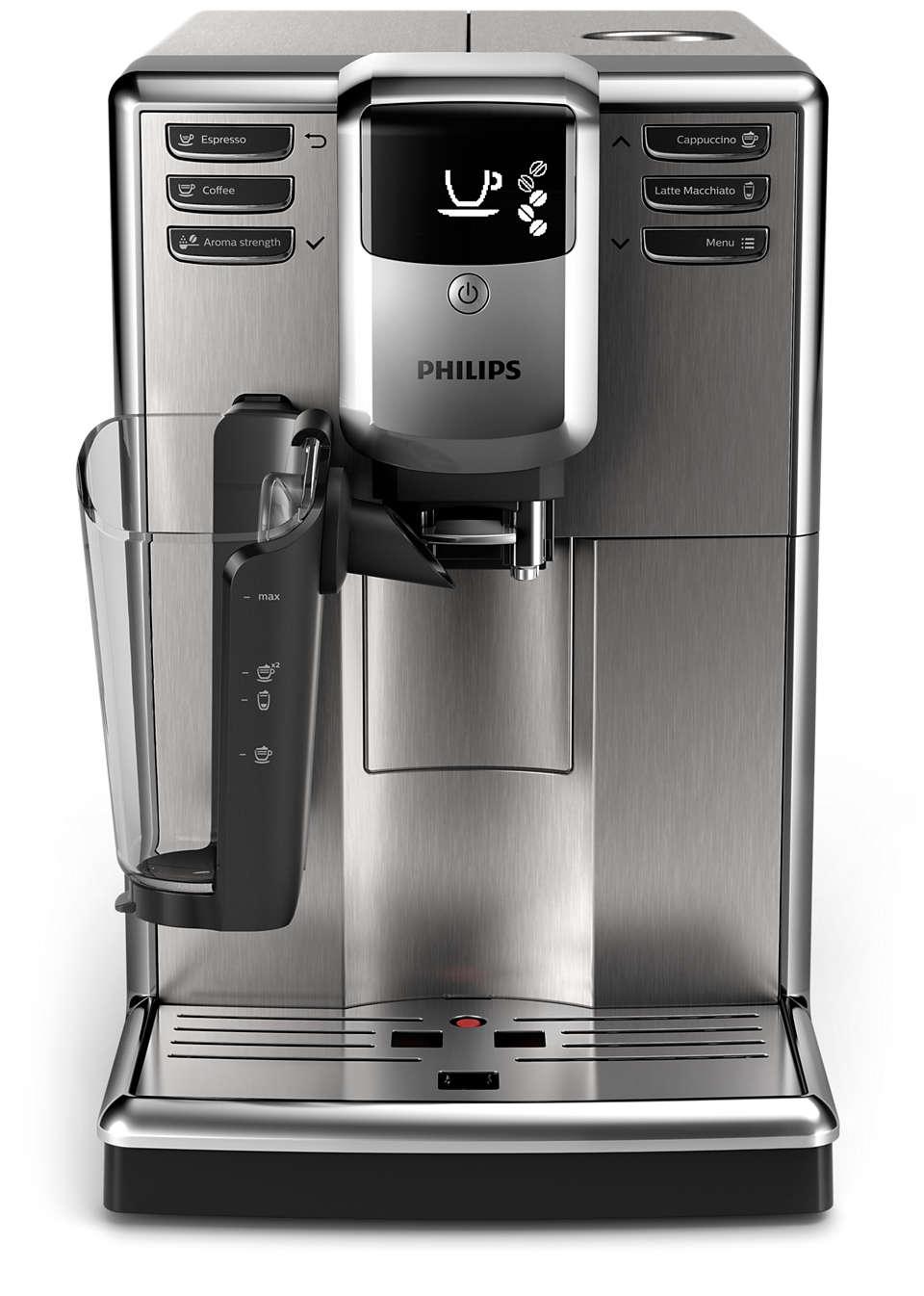 Kaffeevollautomat mit LatteGo Milchsystem