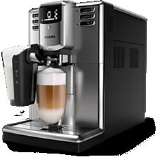 EP5345/10 -   Series 5000 5000 LatteGo - espressomaskin (rustfritt stål)