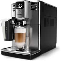 Helautomatiske espressomaskiner med seks drikker