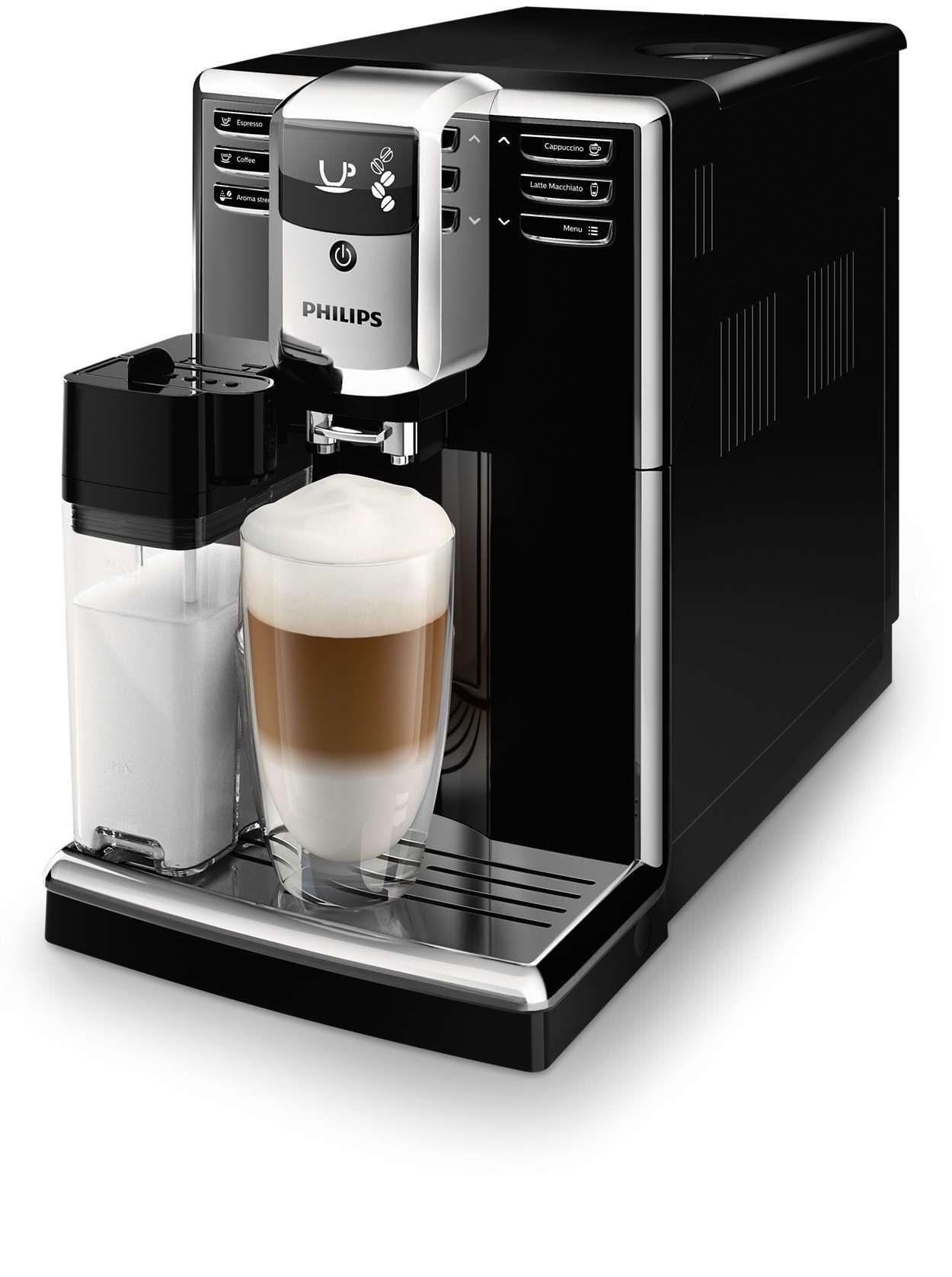 Легке приготування 5видів кавових напоїв зі свіжих зерен