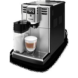 Series 5000 Popolnoma samodejni espresso kavni aparati