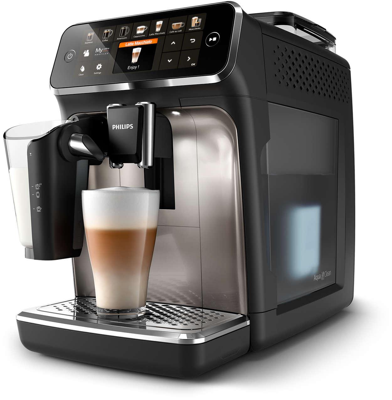 12délicieux cafés provenant de grains frais, en toute simplicité