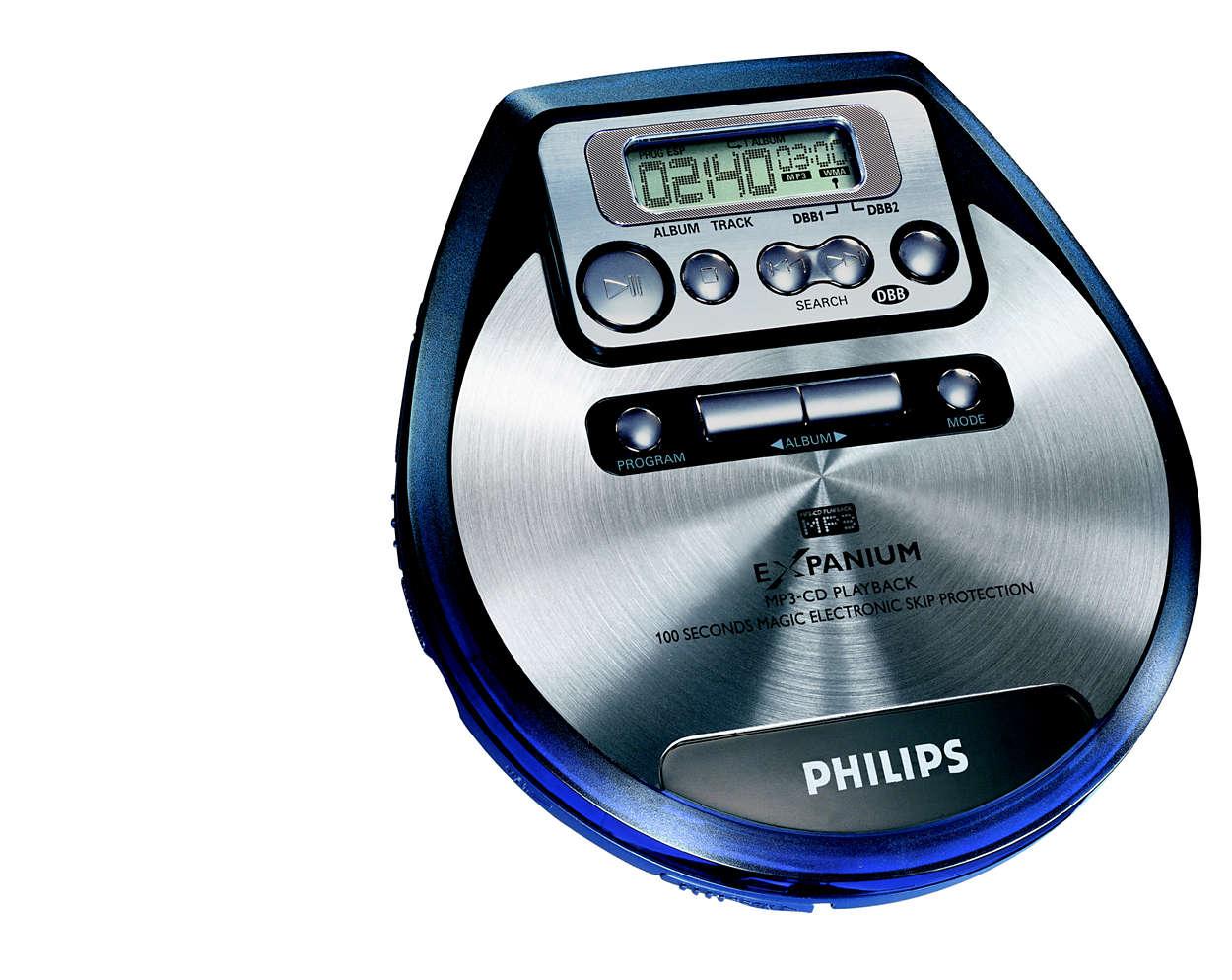 Lytt til MP3-musikk!
