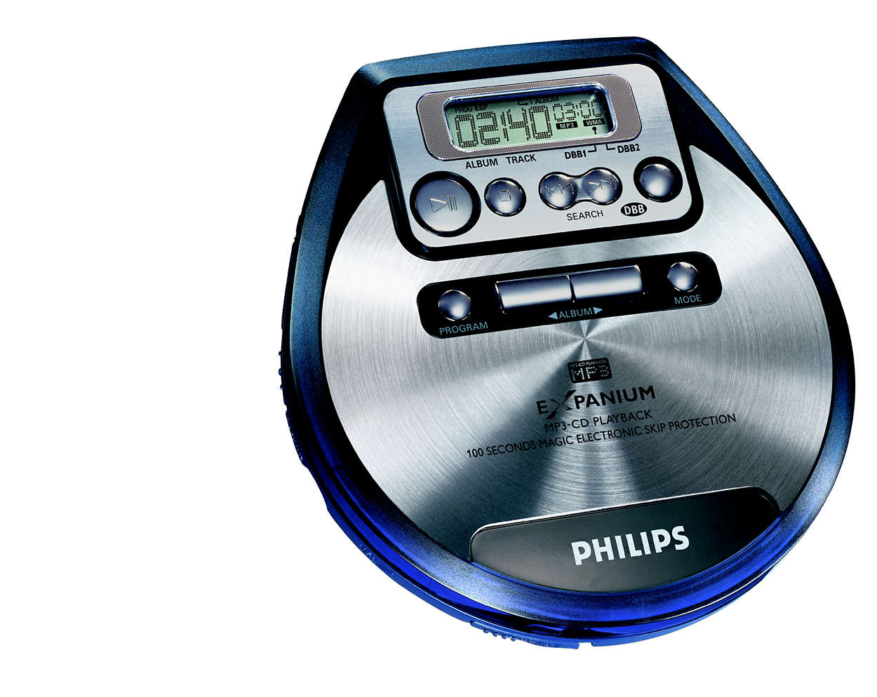 portable cd player exp220 01 philips. Black Bedroom Furniture Sets. Home Design Ideas