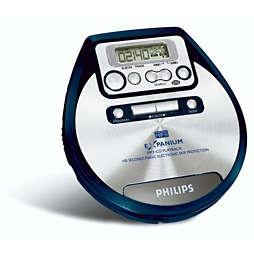 Reproductor de CD portátil
