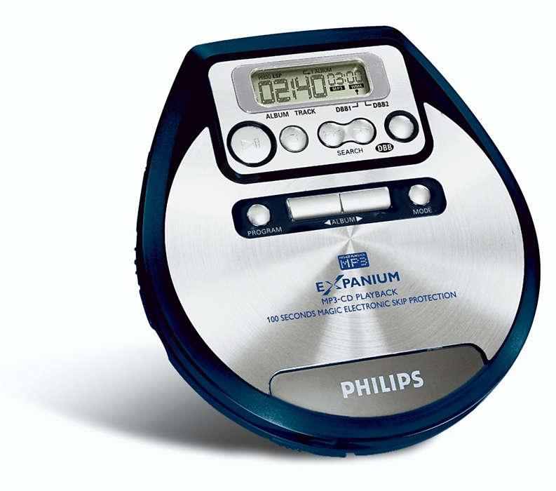 Adja át magát az MP3 zene élvezetének!