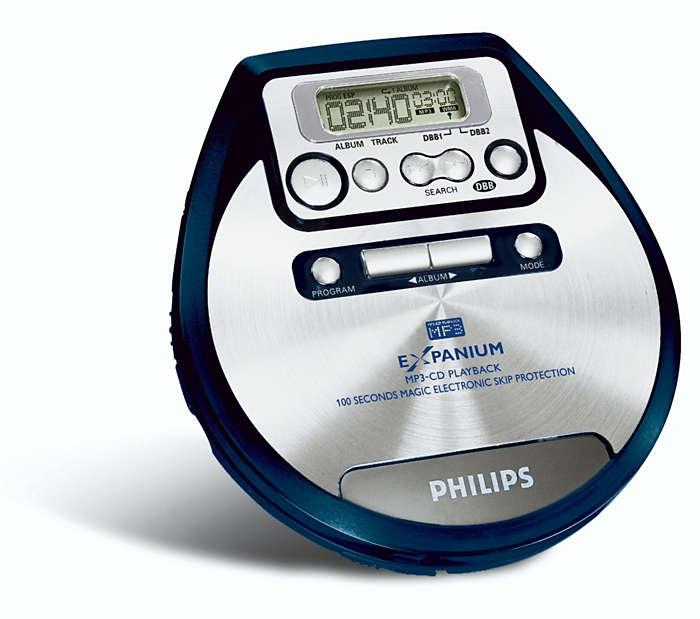 MP3-muziek op zijn best!