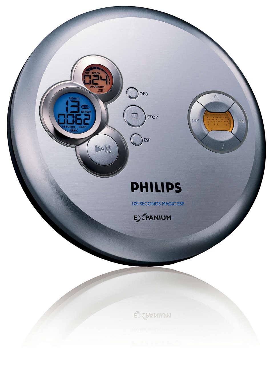 Musica MP3 senza interruzioni