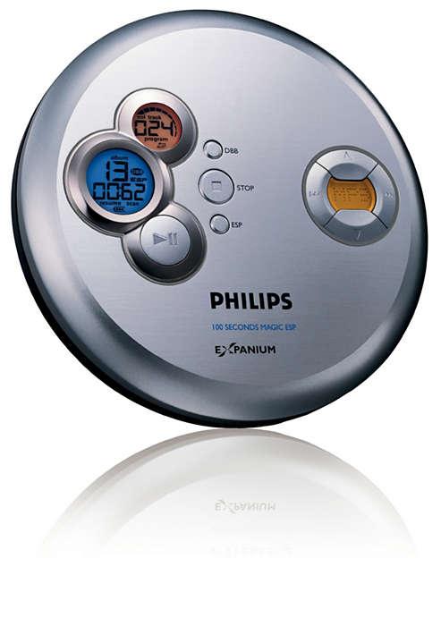 Aprecie música MP3 sem saltos