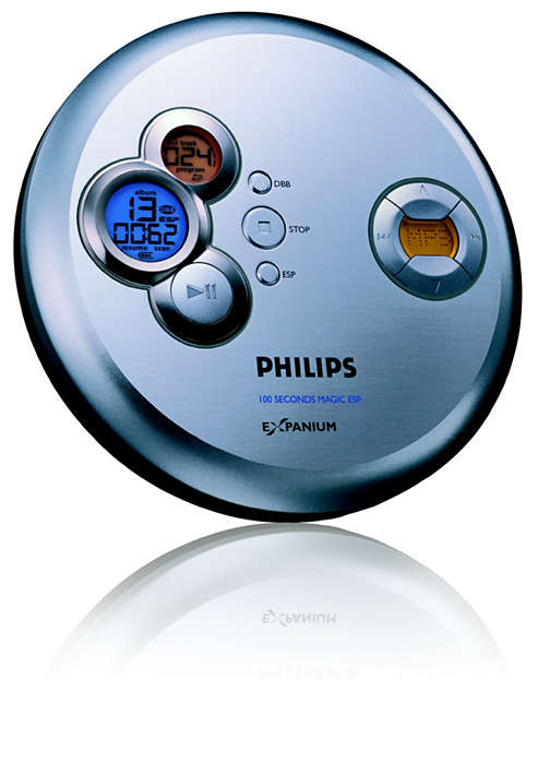 Ouça música MP3 sem interrupções
