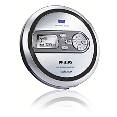 EXP2480/00  Portable MP3-CD Player