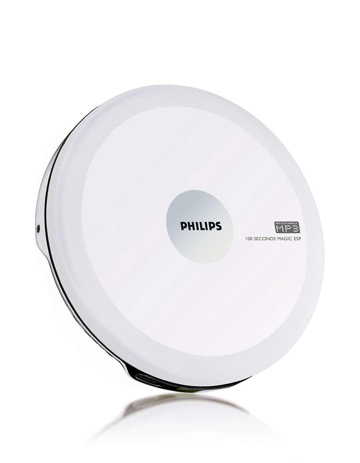 tragbarer mp3 cd player exp2540 02 philips. Black Bedroom Furniture Sets. Home Design Ideas