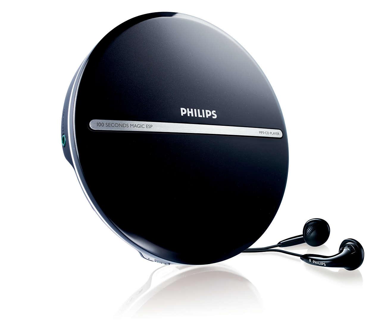 Disfruta de la música MP3 a prueba de saltos
