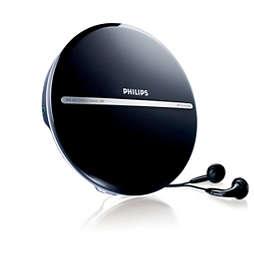 Portatīvais MP3-CD atskaņotājs