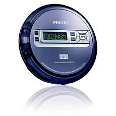 EXP2550/17 -    Portable MP3-CD Player