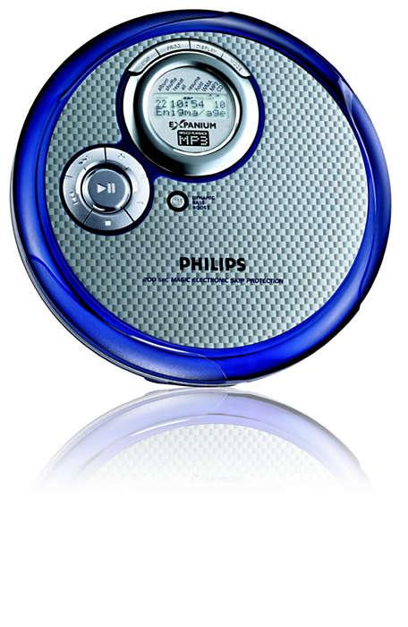 Slim MP3-CD player