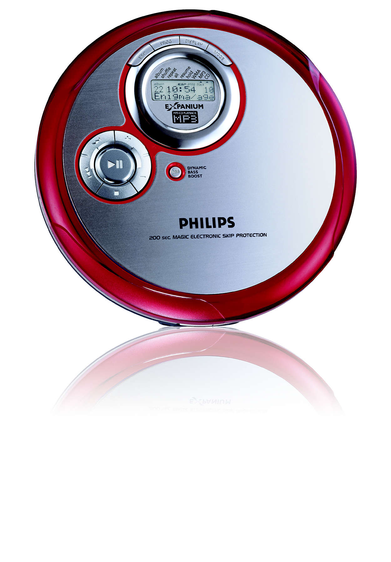 Slim MP3-CD player