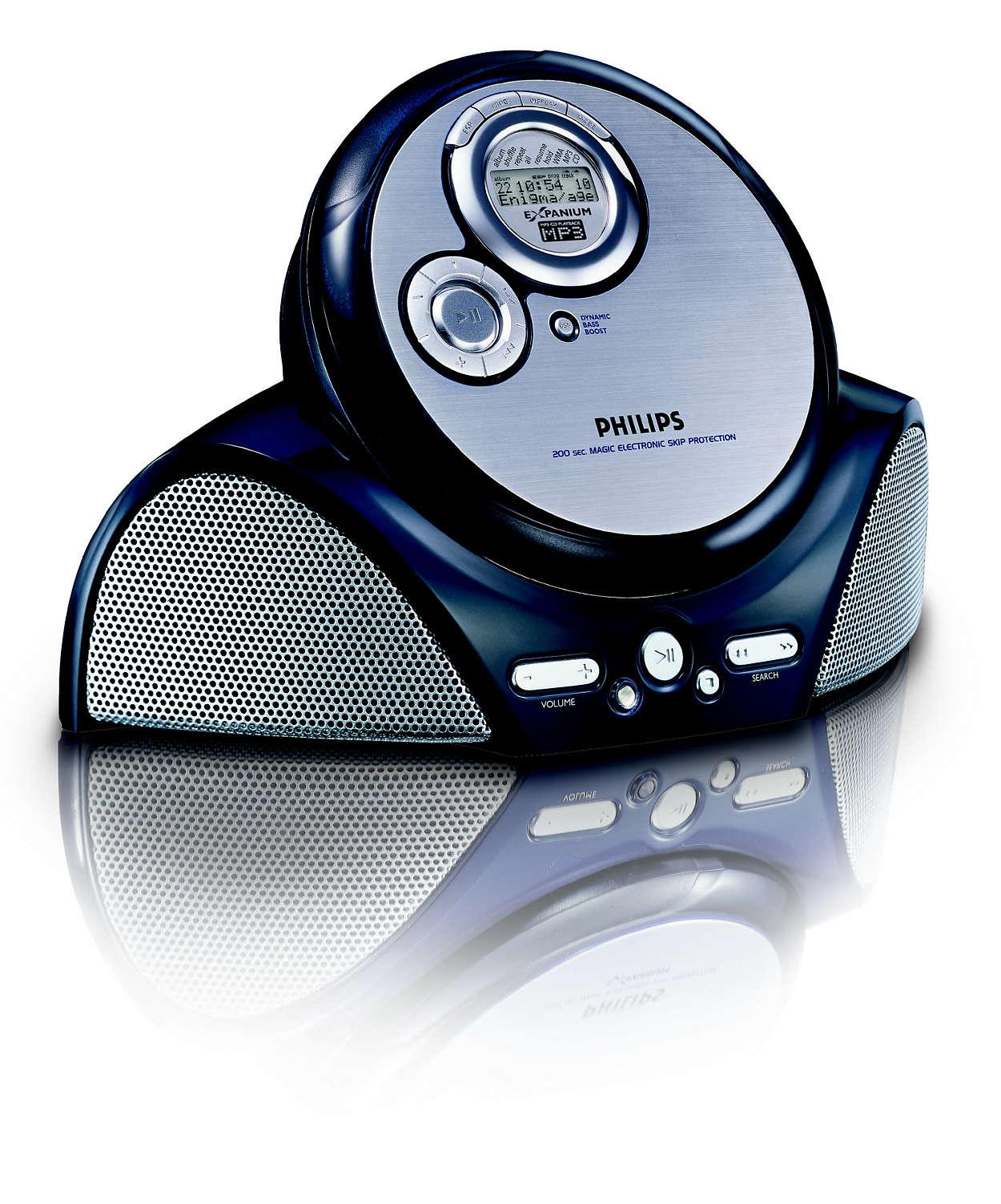 MP3-muziek luisteren zoals u dat wilt