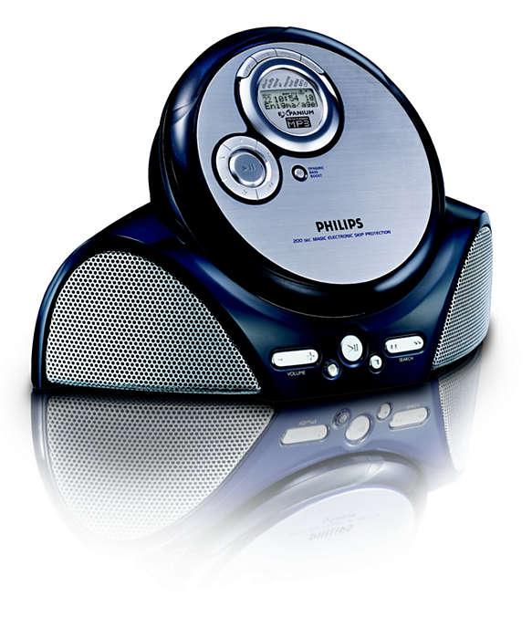 Lytt til MP3-musikk når du er på farten