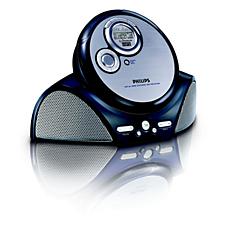 EXP3373/00C -    Przenośny odtwarzacz CD