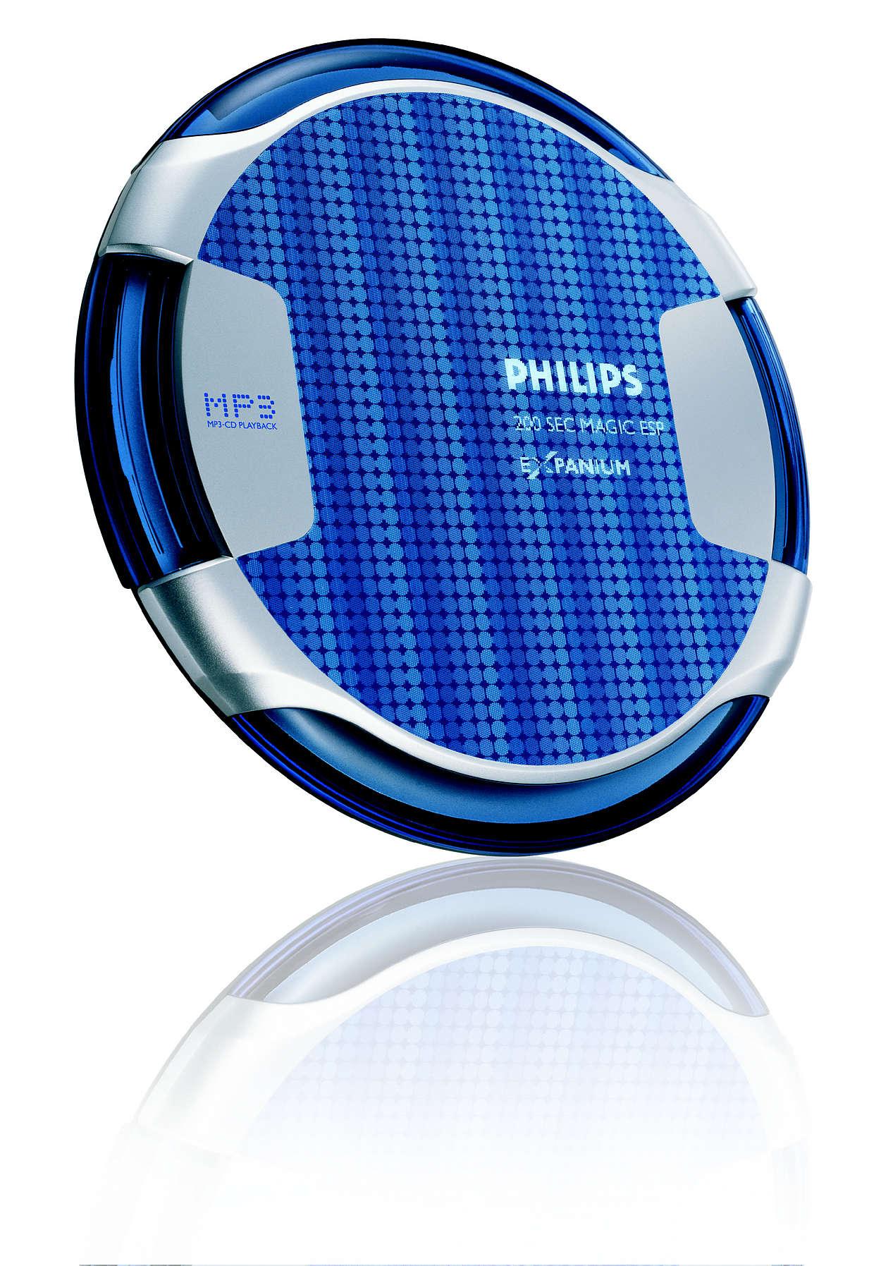 Тънък MP3-CD плейър